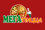 Логотип Мега пицца - Справочник Пушкино